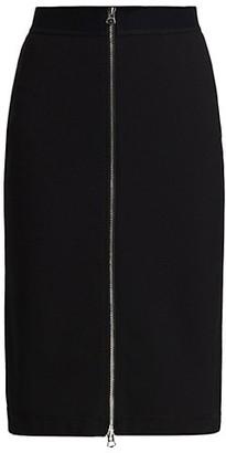 Rag & Bone Simone Zip-Front Skirt