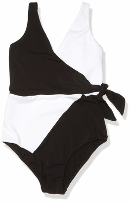 Jets Women's Classique Wrap One Piece Swimsuit