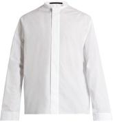 Haider Ackermann Byron Stand-collar Cotton Shirt
