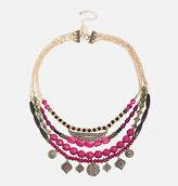 Avenue Short Layered Aztec Necklace