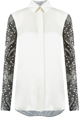 Gloria Coelho Panel Printed Shirt