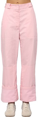 Loewe Cotton Canvas Cargo Pants