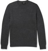 A.p.c. - Waffle-knit Merino Wool Sweater