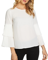 1 STATE 1.state Pleated Bell Sleeve Top