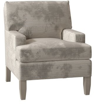 Bailey Huntington Armchair Duralee Furniture Body Fabric Ld Driftwood