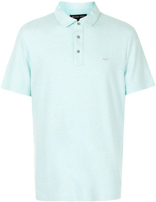 Michael Kors Embroidered Logo Polo Shirt
