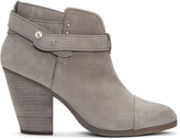 Rag & Bone Grey Harrow Boots
