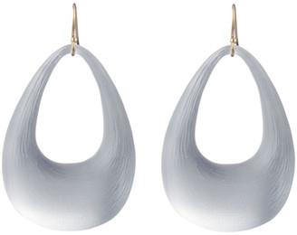 Alexis Bittar Small Tapered Hoop Earrings