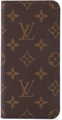 Louis Vuitton Folio Case iPhone 7/8 Plus Monogram Brown