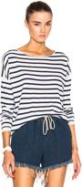 Nili Lotan Striped Crew Sweater
