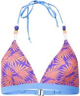 Diane von Furstenberg tropical print bikini top