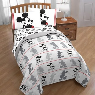 Disney Mickey Mouse Jersey 4 Piece Twin Bed in a Bag