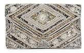 Franchi Sequined Foldover Convertible Clutch
