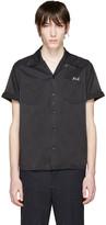 Visvim Black Embroidered Irwing Shirt