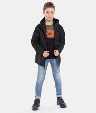 The North Face Boys Resolve Hooded Jacket - Black