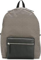 Alexander McQueen micro skull print backpack - men - Leather/Nylon - One Size