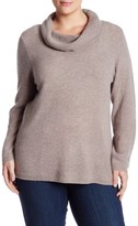 Susina Cashmere Cowl Neck Sweater (Plus Size)
