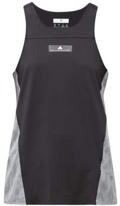adidas by Stella McCartney Run Stretch-knit Tank Top - Womens - Black