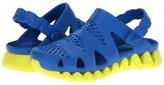 Reebok Kids - Zigstorm (Little Kid/Big Kid) (Blue Sport/Solar Green) - Footwear