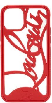 Christian Louboutin Louboutin-logo Iphone 11 Pro Phone Case - Red