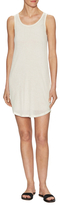 See by Chloe Cotton Collar Logo Tank Dress
