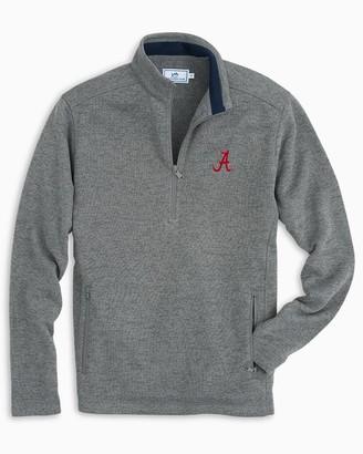 Southern Tide Alabama Sweater Fleece Quarter Zip