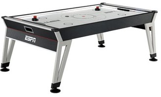 "84"" Two Player Air Hockey Table with Digital Scoreboard and Lights ESPN"