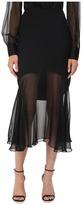 Prabal Gurung Charmeuse Illusion Skirt