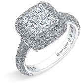 Nordstrom Bony Levy Multi-Row Micro Pavé Diamond Engagement Ring Setting Exclusive)
