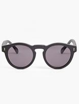 Illesteva Black Matte 'leonard' Acetate Sunglasses