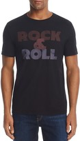 John Varvatos Rock & Roll Crewneck Short Sleeve Graphic Tee