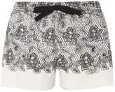 Dorothy Perkins Lace Print Mix And Match Pyjama Shorts