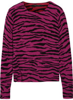 Marc Jacobs Intarsia Cashmere Sweater - Magenta