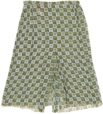 Missoni Green Silk Skirt for Women