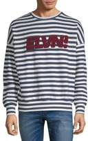 Eleven Paris Sandy Graphic Cotton Sweater