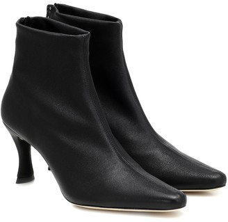 BY FAR Stevie 22 leather ankle boots
