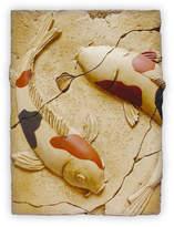 Great China - Leaping Carps Ceramic Wall Art