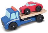 Melissa & Doug Flatbed Tow Truck.