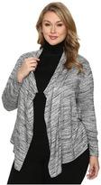 Karen Kane Plus Plus Size Drape Cardigan