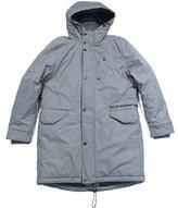 G Star Men's Verdem Hooded Parka Jacket In Altitude Herringbone Nylon