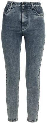 Miu Miu High-Rise Cropped Skinny Jeans