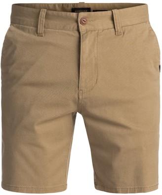 Quiksilver Young Mens Spratt Chino Walk Shorts Shorts