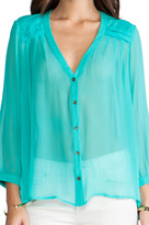 Twelfth St. By Cynthia Vincent By Cynthia Vincent Reckless Daughter Pleated Yoke Top
