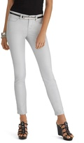 White House Black Market Curvy Coated Skinny Jean