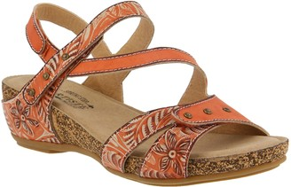 Spring Step L'Artiste by Leather Sandals -Quilana