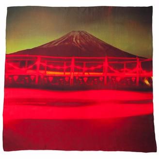Plinth Mt. Fuji Silk Scarf