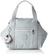 Kipling Art S, Women's Bag, Grau (Dazz Grey), 44x27x18 cm (B x H T)