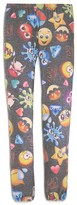 Vintage Havana Girls' Emoji Print Leggings - Sizes S-XL