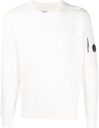 C.P. Company Long Sleeve Zipped Pocket Sweater