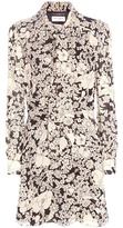 Saint Laurent Printed Crêpe Dress